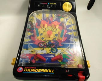 Electronic Thunderball/Pin Ball Machine/Automatic Score Keeping/Made By Playwell In China/Good Working Condition