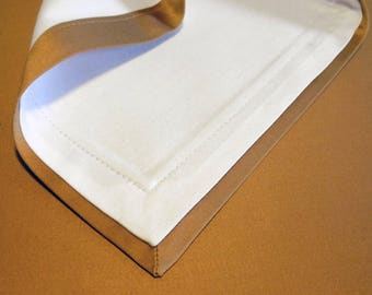 Napkins made from cotton sateen, set of 4