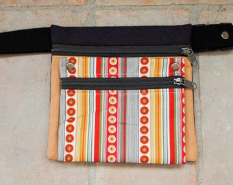 Apricot fabric Fanny Pack