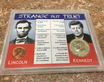 Lincoln   Kennedy comparison. Strange but true facts