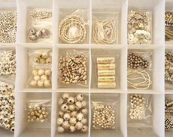 Box of Silver Beads