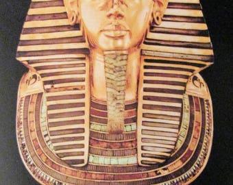 Treasures of Tutankhamun 1978 Promotional Post Card-Original and Unused