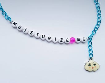 Moisturize Me, Doctor Who inspired necklace
