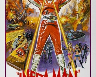Summer Sale The Super Inframan Movie POSTER (1975) Sci-Fi/Action