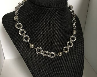 Möbius Ball Chain necklace