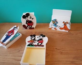Disney Vintage Desk Set
