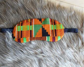 Sleep Mask - Sleeping Mask - Beauty Mask - Spa Mask - Relaxation Gifts - Travel Mask - African Mask - African Gifts - Sleep Gift