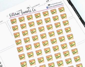 Avocado Toast Planner Stickers