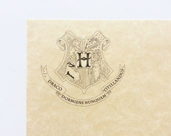 how to make harry potter parchment paper