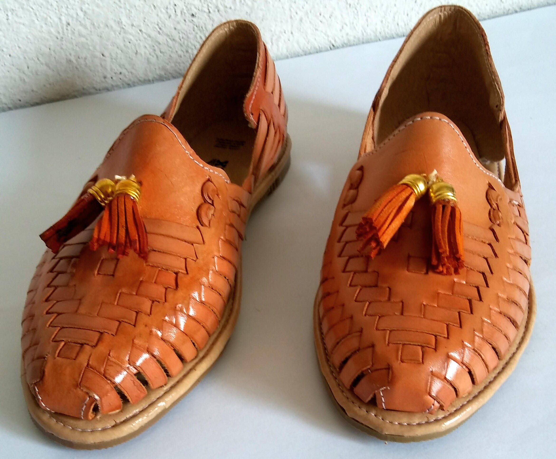 Mexican Sandals Mexican Huaraches Sandals Mexican Shoes Us 7
