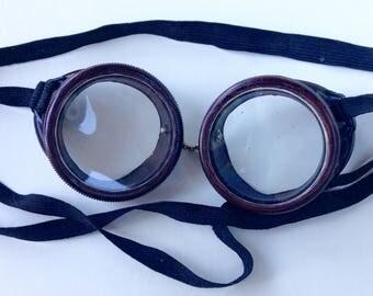 Vintage Bakelite Goggles