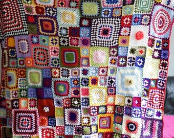 Puzzle blanket/throw