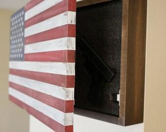 American Flag Hidden Compartment