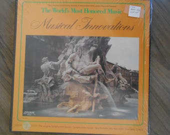SEALED The World's Most Honored Music *Musical Innovations* London  Records 3-Record Set LONGINES SYMPHONETTE Symphony Lp