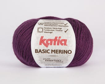 Katia Basic 28 color Merino Wool.