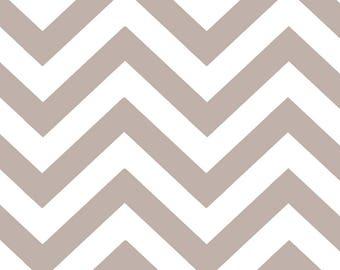 Moda HALF MOON MODERN  Quilt Fabric 1/2 Yard - Stone Zig Zags 32216 31