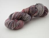 Blood Moon   Isaac Base Hand Dyed Yarn   SW Polwarth   Fingering Weight