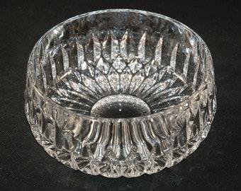 """Gorham Crystal Germany Althea Cut Crystal Bowl - 6 1/4""""  Full Lead Crystal"""