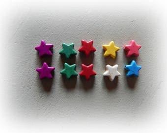 Star howlite 12 mm 10 beads