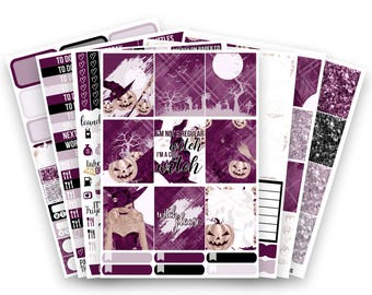 Julie No White-Space Weekly Kit - Planner Stickers