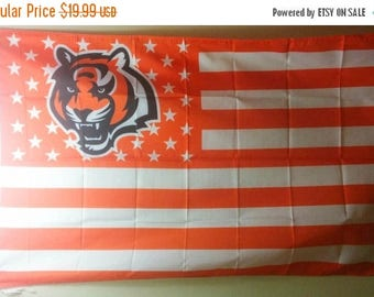 PRE-SEASON SALE 30% Off Cincinnati Bengals, Bengals Nation Flag or Banner 3' x 5'