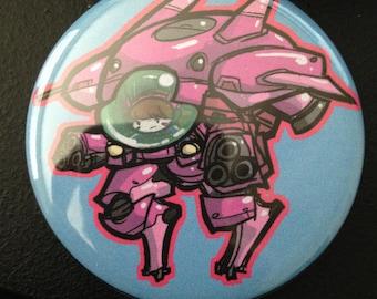 Itty Bitty D-VA & MEKA Button