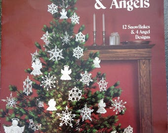 Crocheted Snowflakes and Angels Leaflet