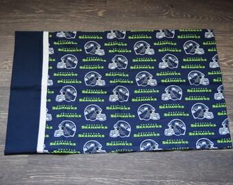 Handmade NFL Seattle Seahawks Standard Pillowcase