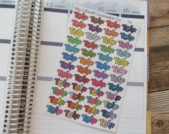 DC23 - TGIF Stickers