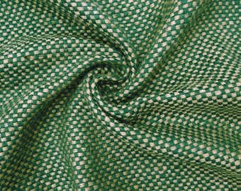 """Indian Fabric, Burlap Fabric, Home Decor Burlap, Green Burlap Fabric, Sewing Crafts, 50"""" Inch Wide Jute Fabric By The Yard ZJC6A"""