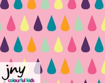 Drops Pink JNY Organic Cotton Lycra Jersey Knit Fabric
