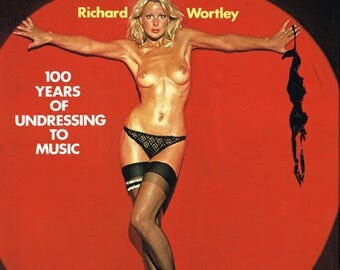A Pictorial History Of Striptease - 1976 - Hard cover