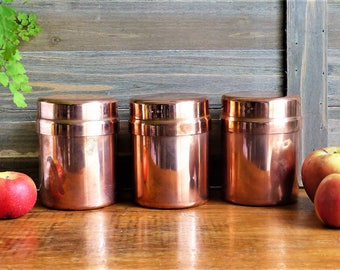 Copper canister | Etsy