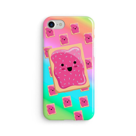 Kawaii cute toaster pastry  iPhone X case - iPhone 8 case - Samsung Galaxy S8 case - iPhone 7 case - Tough case 1P048