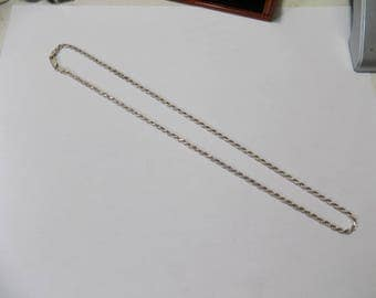 Sterling silver 20 inch rope necklace 2.5 mm thick