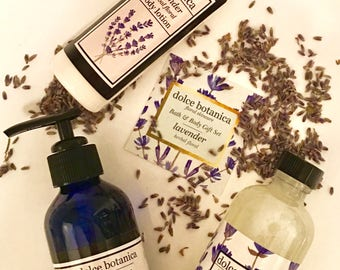 Spa Gift Set, Lavender Gift Set, Gift for Her, Gift for Her, Bridesmaid Gift, Natural Skincare