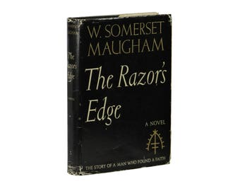 The Razor's Edge ~ W. SOMERSET MAUGHAM ~ First Edition 1st Printing ~ 1944