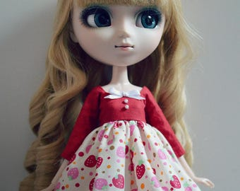 Pullip - Strawberry dress