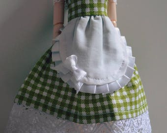Pullip - Green gingham dress