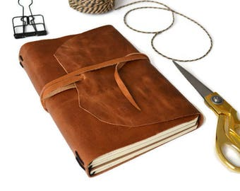 Agenda Leather Journal | Brown | A5 Travel Notebook | Diary | Midori | Book | Refillable | Writing Journal | Lined Diary  Leather notebook