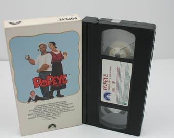 Popeye the movie VHS Tape