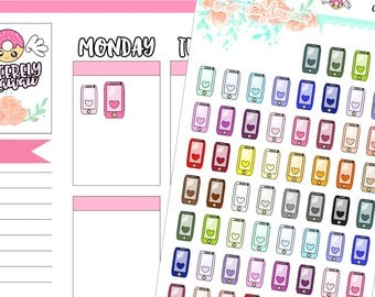 Icon Cellphone Stickers (07)