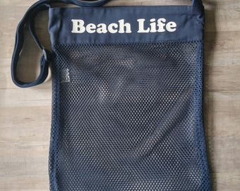 Beach bag - seashell bag - beach life