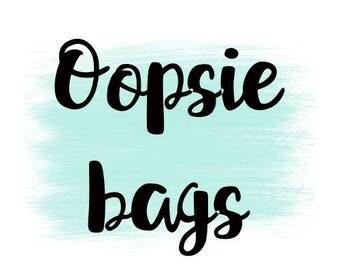 Oopsie Bag NO COUPONS