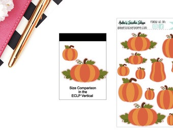 Pumpkin Stickers for any Planner