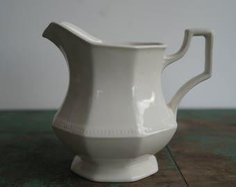 English Ironstone Milk Pitcher/Creamer