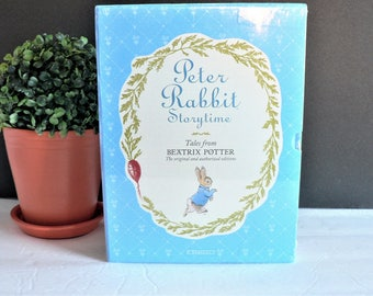 Beatrix Potter Tales Complete Cased Four Volume Set - 19 Stories - Peter Rabbit Books Collection - Unopened