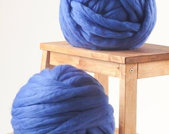 Chunky yarn, Merino wool yarn, Premium 18 microns Super bulky yarn, Giant yarn, Thick yarn, Super chunky, DIY Knitting, NO MULESING Wool