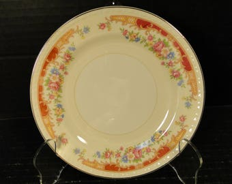 "Homer Laughlin Eggshell Georgian Belmont Bread Plate 6 1/8"" EXCELLENT"