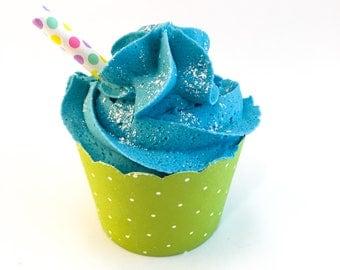 Bath bomb - Bubble bath - Bubble bar - Bath cupcake - Bath soak - Fun gift - Stocking stuffer - Co-worker - Vacation - Summer rain - Gift